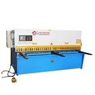 2020 New conditional QC12K-10x2500mm shear plate machine, NC E21S cutting sheet machine