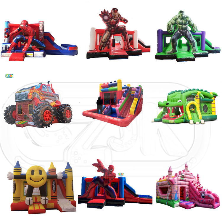commercial jumper inflatable bouncer jumping bouncy castle bounce house with banner