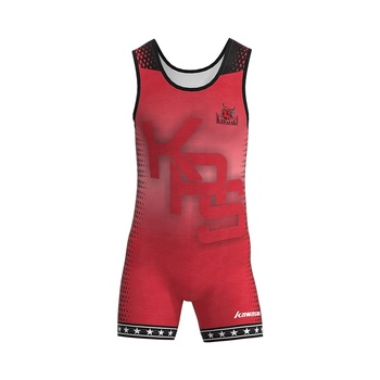 Hot Selling Top Quality Custom Sublimation Printing Teamwear Youth Singlet