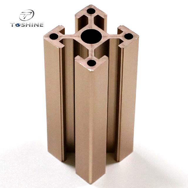 Aluminium Profile Extrusion Modular Frame System Products