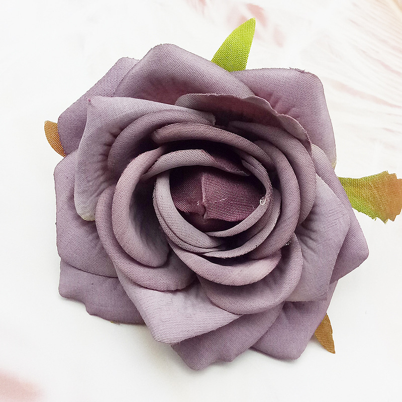 High quality artificial <strong>rose</strong> <strong>head</strong> DIY for weddings and gifts