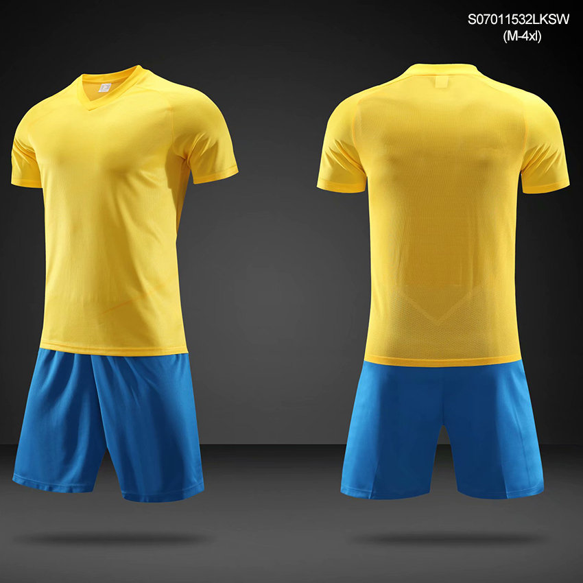 Quick Dry Polyester Soccer Jersey With Maker Customized