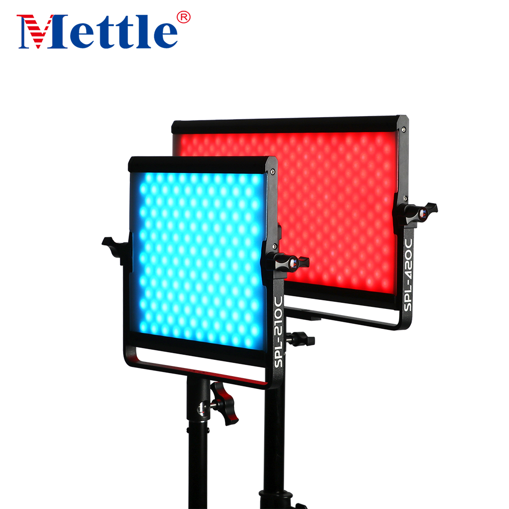 APP controlled camera RGBW LED studio video light photography