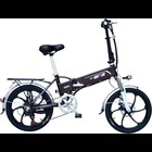 Electric Hot Selling High Quality 48V250W20 Inch Front And Rear Disc Brake Variable Speed Folding Electric Bicycle