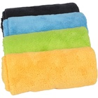 Towel 40*40cm Edgeless Rich Pile Coral Fleece Towel For Cleaning Car Towel 40*40cm 500gsm