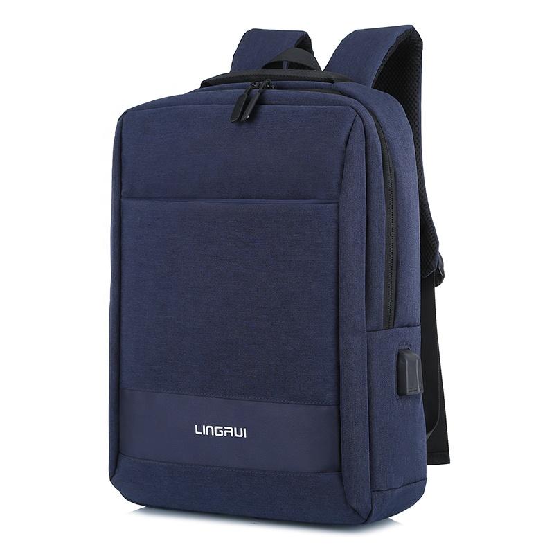 Nouveau design style d'affaires de bureau de voyage multifonctionnel sac à dos avec compartiment pour ordinateur portable