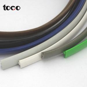 Sales Promotion plastic t-molding/t edge bandingFactory Directly flexible plastic pvc t shape pvc profile edge banding