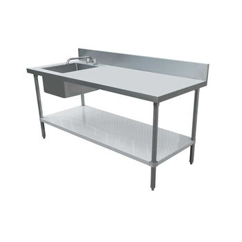 Triple Bowl s/s Sinktable Industrial Triple Bowl Stainless Steel Kitchen Sink Table