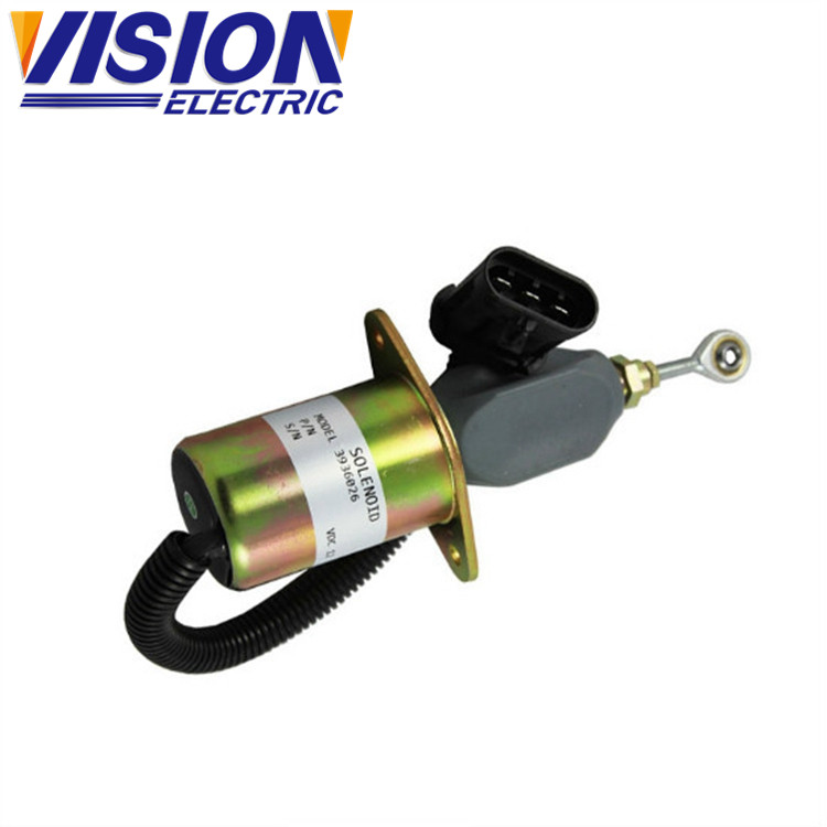 Valvola solenoide carburante 12v 3936026 SA-4647-12 Solenoide push pull