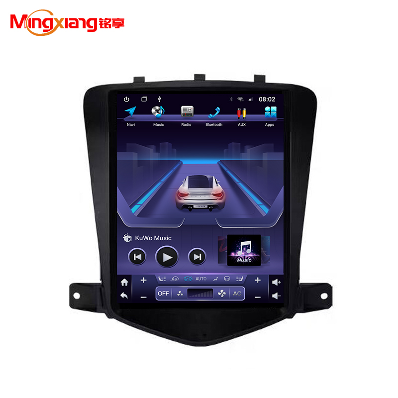 Style like Tesla screen 10.4-inch DVD Android navigation multimedia radio Car Radio <strong>Player</strong> for Chevrolet Cruze