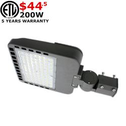 Ultra Slim AC 120V 347V LED Parking Lot Light 300W IP66 Wate