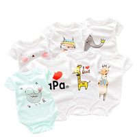 Hot Sale Newborn Romper 100% Cotton Baby Clothing 3-24 Months Baby Romper Baby Rompers Summer 5 -piece set