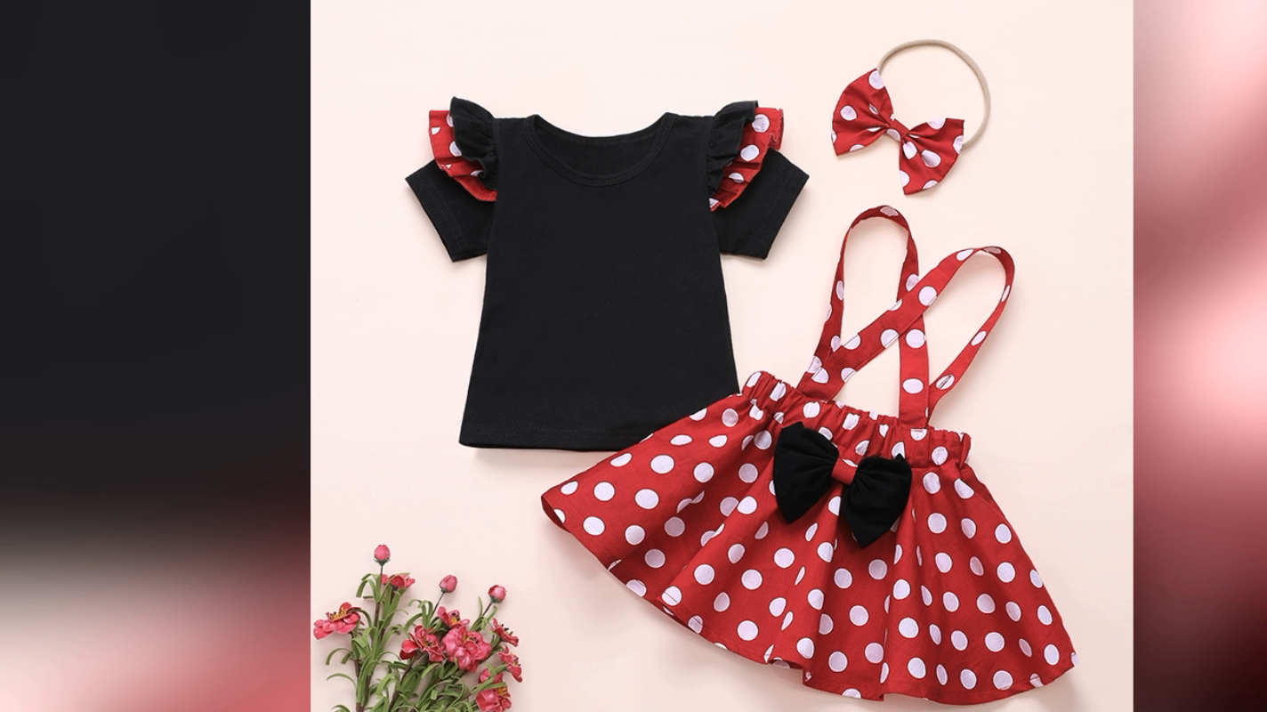 Adorable Fashion Design Trusted Quality Newborn Baby Clothes Set Baby Dresses Girl Baby Girl Clothes