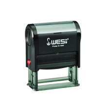 WES Stamper STAMP Pad Self Inking แสตมป์ยาง S-1540 โฟม