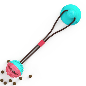 Hot Sales Wholesaler Dog Toy Suction Cup Chew Rope Toys With Balls