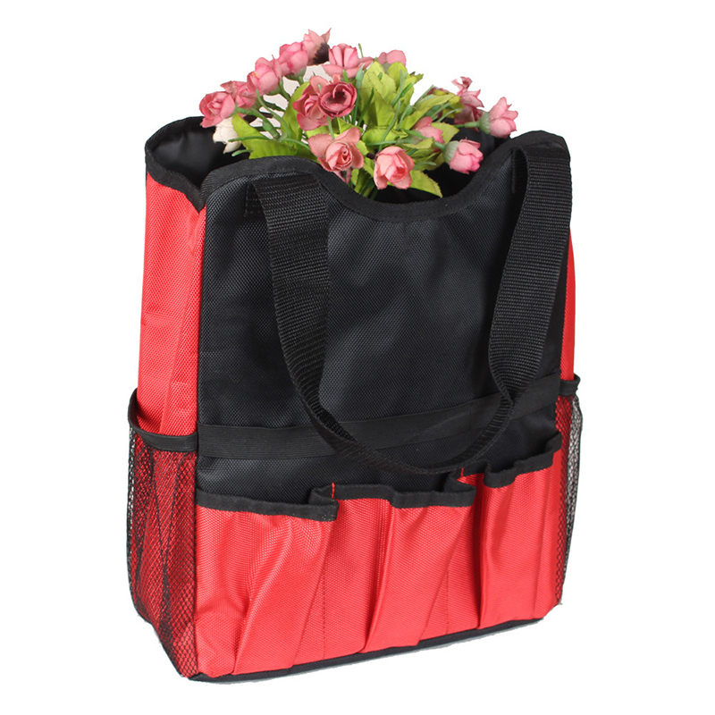 Super September Gardeners Workers Nylon Thickened Single Shoulder Multi-functional Storage Tool Bag Organizer