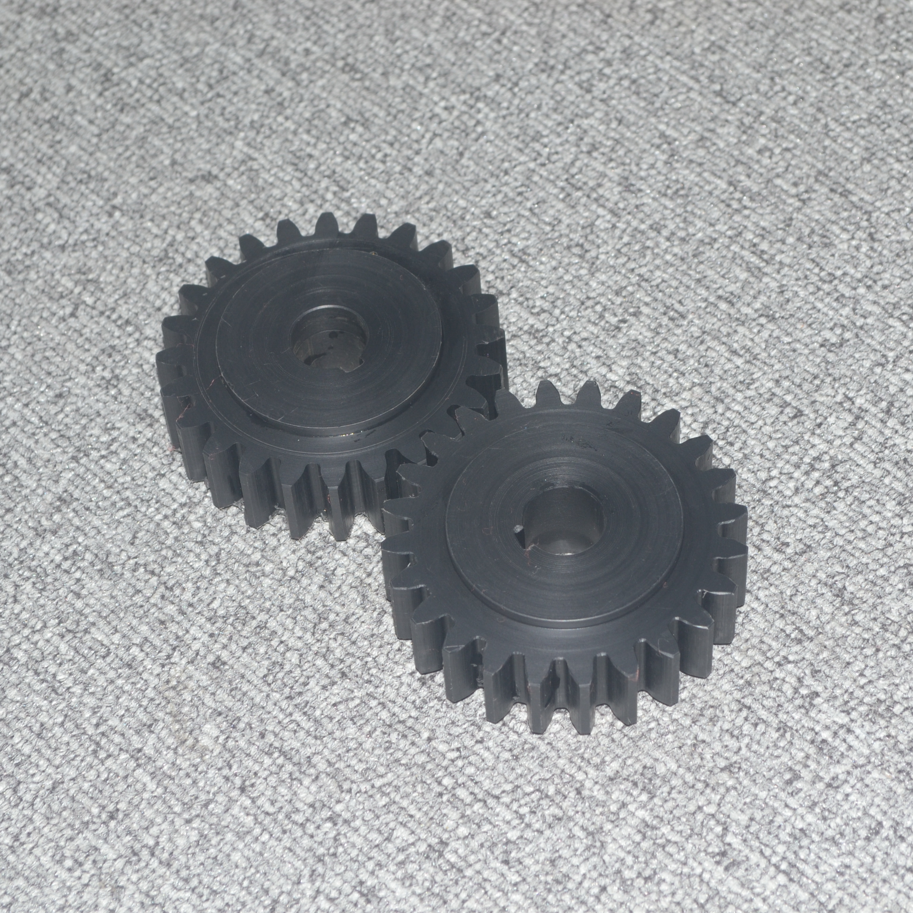 CNC pa66 gf30 for plastic gear
