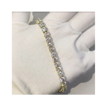 2020 new arrivals iced out cz bracelets crystal AAA CZ tennis bracelet
