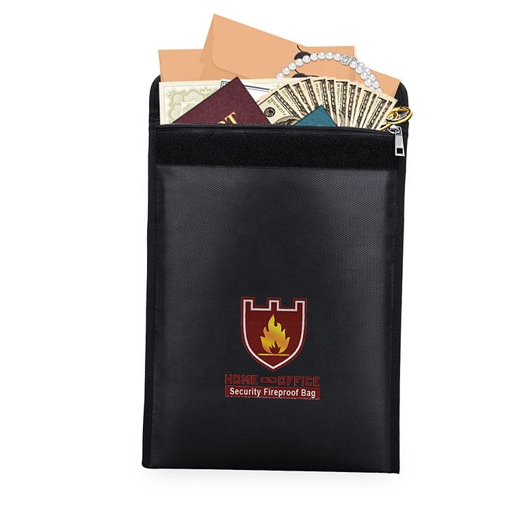 Promotion Fireproof Money Fireproof Waterproof Document Bag