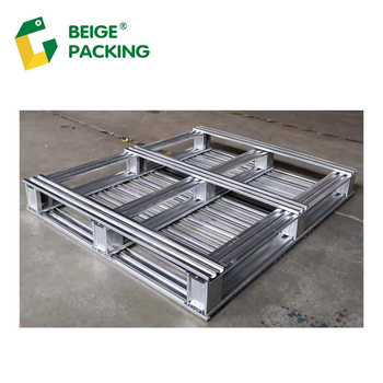 2-way steel pallets for concrete block making machine