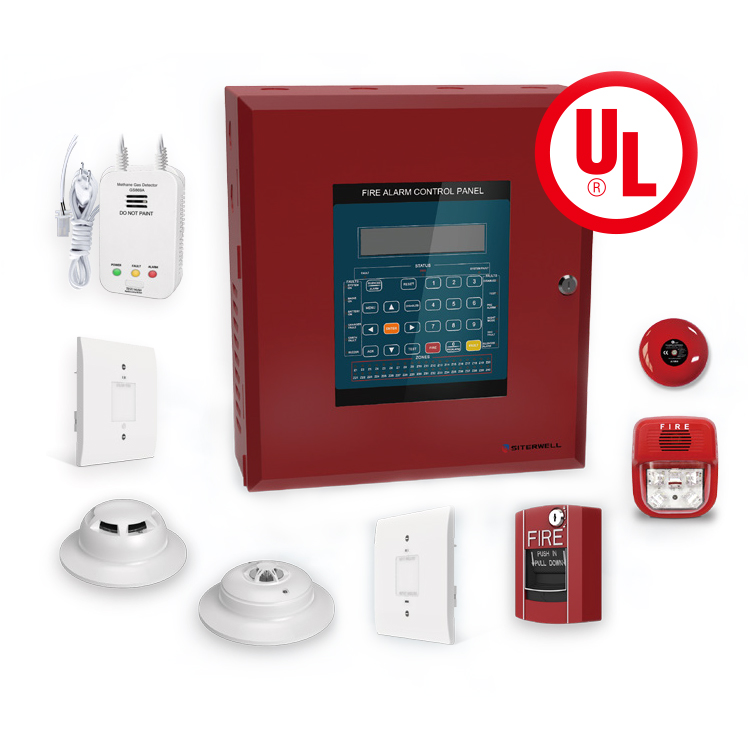 Manufacture UL864 Standard Addressable Fire Alarm Control Panel