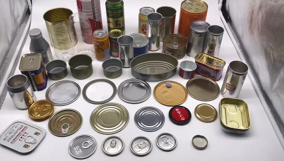 공장 도매 3-pc 음식 깡통 음식 통조림