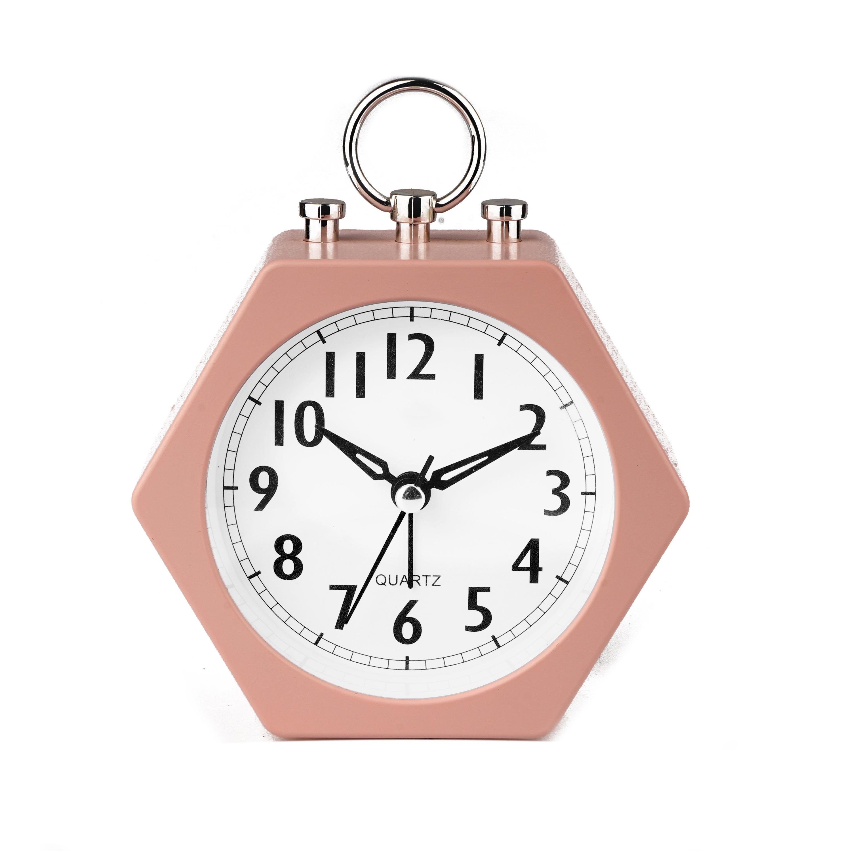 Sakura rosa sveglia al quarzo a batteria table alarm clock
