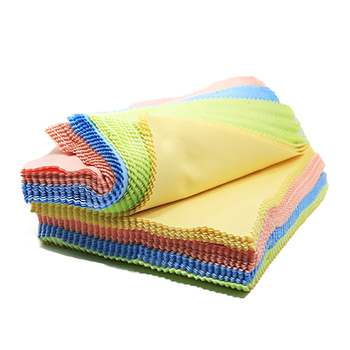 Glasses Lens Cloth For Sunglasses Microfiber Eyeglass Cleaning Cloth random color candy color Glasses Accessories