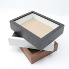 PS Black or White shadow box photo picture frames made in China