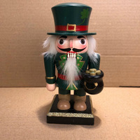 New year high quality decorative style christmas custom wooden soldier nutcracker doll for sale