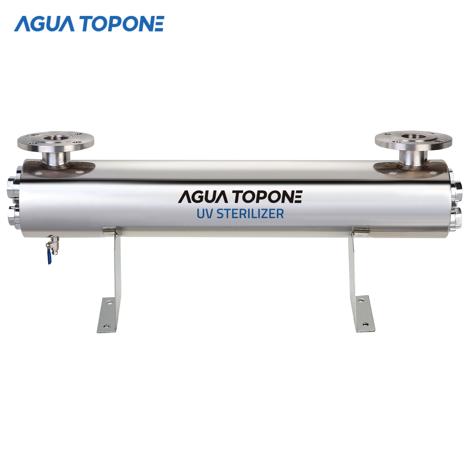 Agua Topone 220w 48gpm pond <strong>aquarium</strong> <strong>uv</strong> water <strong>sterilizer</strong> <strong>for</strong> fish tank