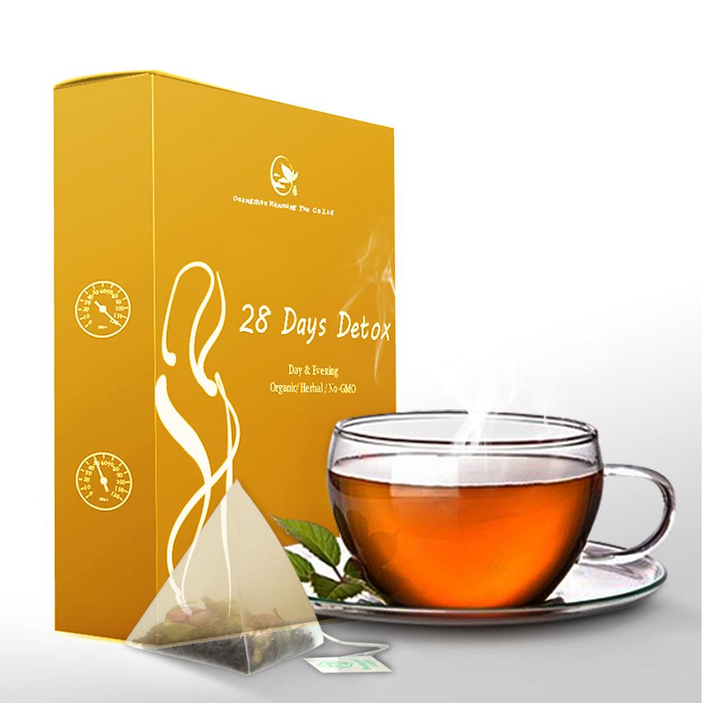 Free Sample Organic Wholesale Fast Herbal Malaysia Herb Moringa Slimming Tummy 28 Day and Night Detox Tea - Teatox 56 Tea Bags - 4uTea | 4uTea.com