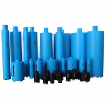 Diamond core drill bit/core bit/diamond bit for drilling and cutting reinforced concrete