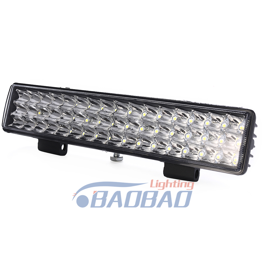 Dual Color LED Work Light Strobe car Light Bar Flashing Auto Fog Light For Truck SUV ATV