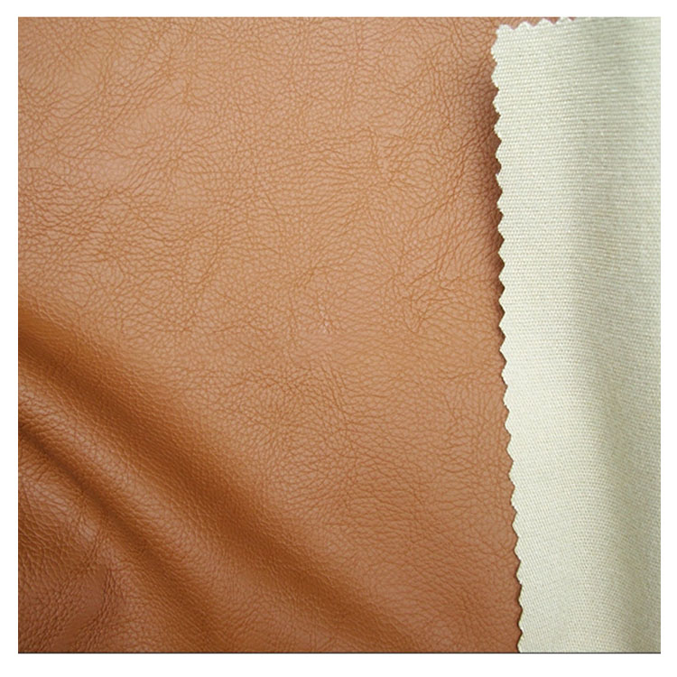 Thin Soft PU Leather Fabric For Making Clothes 54 Inch Faux Leather For Garment