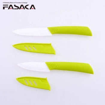 Amazon Best Products Cheap Price 2pcs ceramic knife set with blade sheath