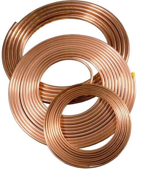 1/2 5/8 5/16 5/6 C12200 air conditioner Pancake copper coil pipe