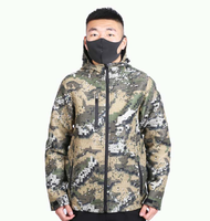 Wholesale Cheap Designer Military Camouflage Jackets Waterproof Cycling Camping Windbreaker for Outdoor