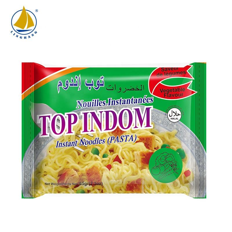 Private label OEM instant style shrimp noodles product type China ramen halal 3 minutes