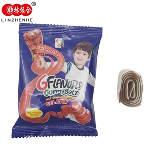 Cola soft chew gelatin gummy candy sweet jelly candy from china