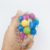 Custom shaped tpr squeeze stress relief flashing light spiky squishy toy