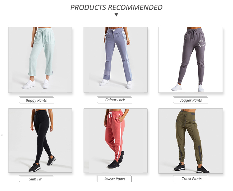 Custom patchwork mesh pockets sports bottoms  jogger pants for women