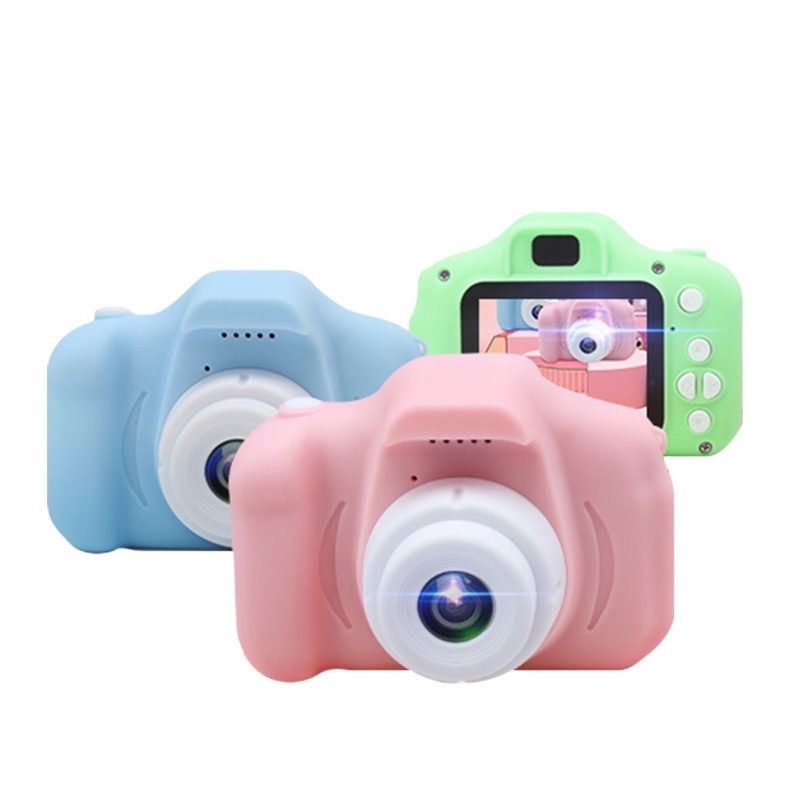 Hot Christmas Gift Toy 2.0 Inch Screen Colorful Video Camera HD 720P Mini Kids Camera