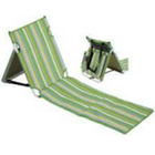 Tube Beach Folding Chair Beach Color Steel Tube Reclining Custom Folding Beach Chair Cover