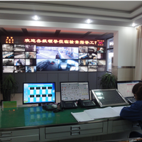 PLC centralized control machine and monitoring system
