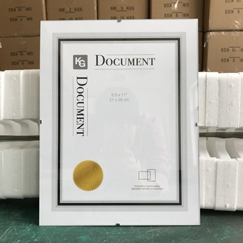 21x29.7 document frame, A4 certifucate frame, PS graduation photo frame