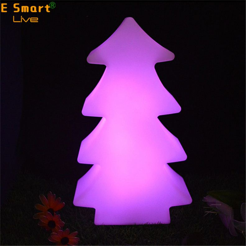 sale christmas festival gift decorate tree/star/snow led flashed color lights rechargeable waterproof night shining lights