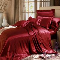 19mm/22MM/25MM Oeko-Tex 100 Seamless Silk Bedding Bed Linen 100% Mulberry Silk Bed Sheet, Luxurious Silk Bedding Set