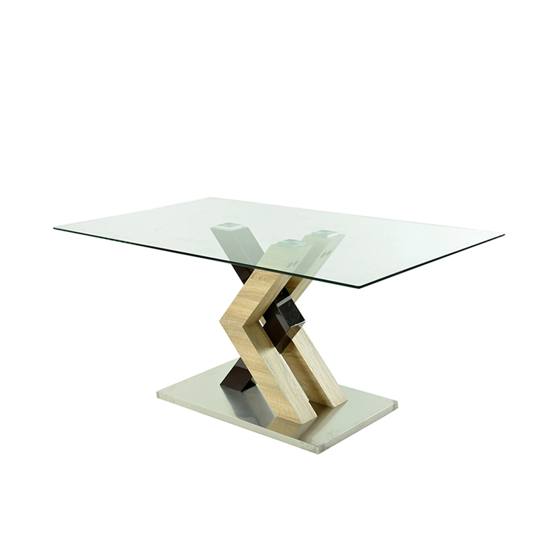 China product dining room furniture glass dining <strong>table</strong> MDF <strong>table</strong>