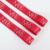 Factory OEM silk screen ink printed band name satin and grosgrain ribbon with custom logo for gift wrapping